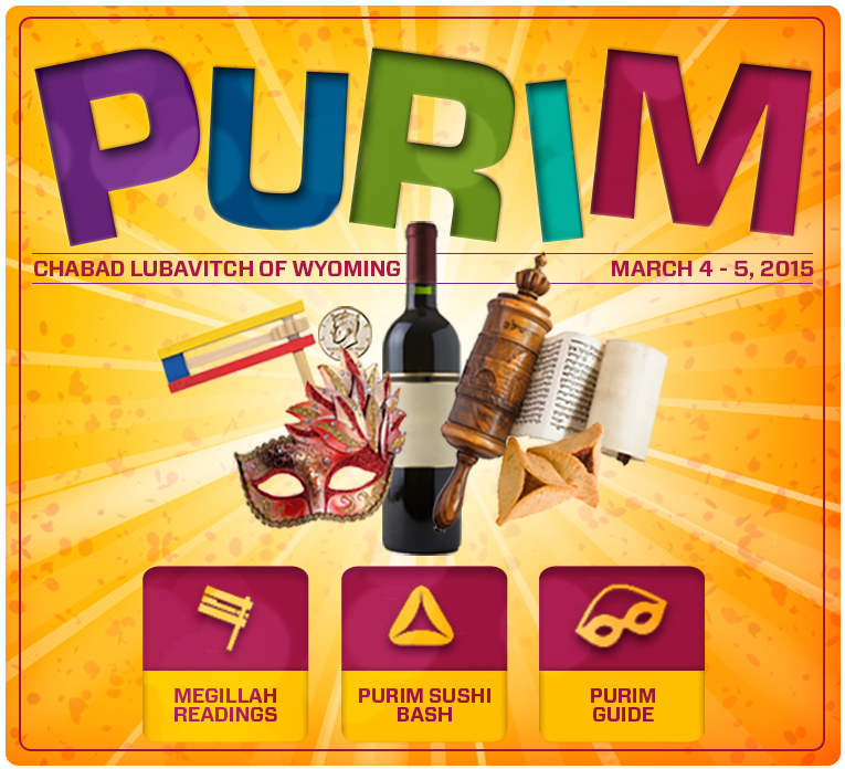 Celebrate Purim with Chabad Lubavitch of Wyoming